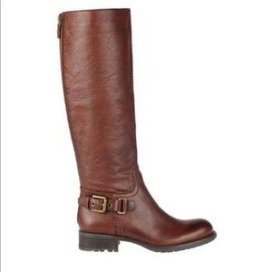 Franco Sarto Leather Riding Boot 7.5